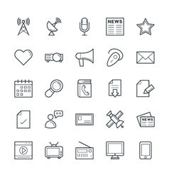 Communication cool icons 2 vector