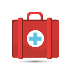 hospital suitcase icon image vector image vector image