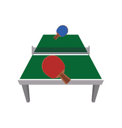 Ping pong table vector