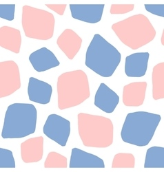 Rose quartz and serenity background mosaic vector