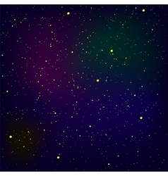 Stars background milky way vector