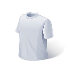 T-shirt Sports wear vector image vector image