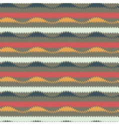 waves and stripes seamless pattern vector image