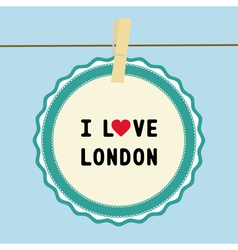 I love london2 vector