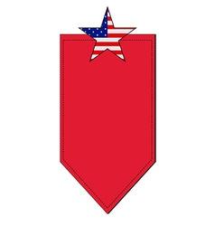 American banner vector