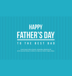 Collection stock of father day card style vector