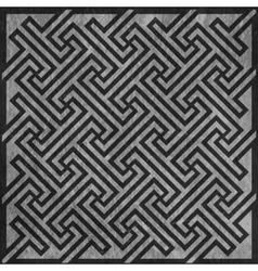 Geometric key pattern vector image