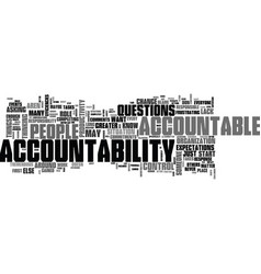 It s your move the first step to accountability vector