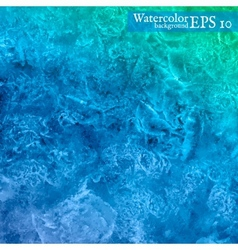 watercolor background Abstract art hand paint vector image vector image