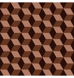 Chocolate mosaic pattern vector