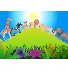 Animal safari vector