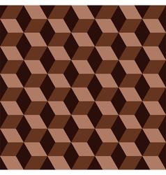 chocolate mosaic pattern vector image vector image