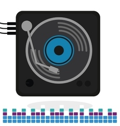 Music icon design vector