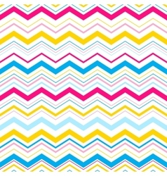 zigzag seamless pattern Eps10 vector image