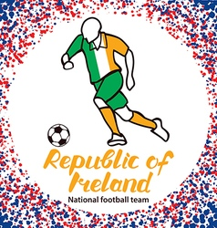 Republic of ireland 3 vector