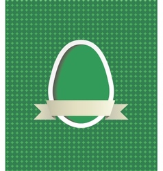 Easter egg frame vector image