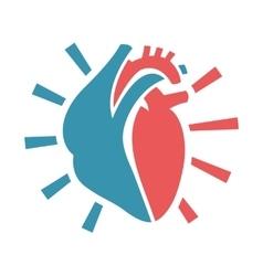 Heart Icon 03 A vector image vector image