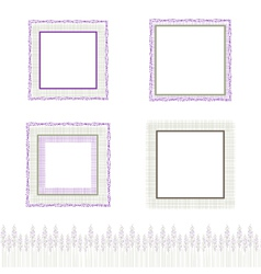 Natural frame collection vector