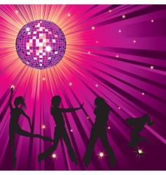 nightclub background vector image vector image