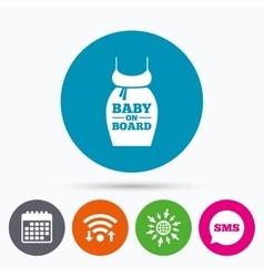 Pregnant woman dress sign icon maternity symbol vector