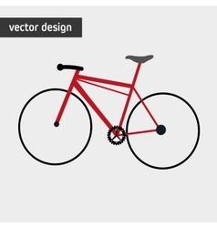 Bike lifestyle design vector image vector image