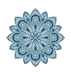Mandala Decorative ethnic floral ornament vector image vector image