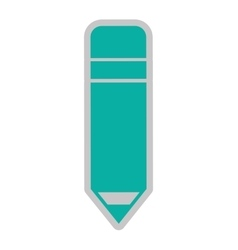 pencil isolated icon design vector image vector image