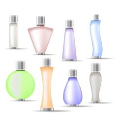 fragrance bottles vector image