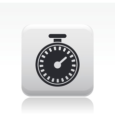Chronometer icon vector