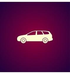 Wagon car icon concept for design vector