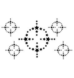 Background black star art vector