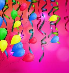concept background birthday celebration vector image