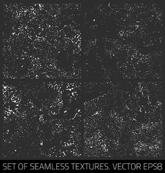 SET OF SEAMLESS TEXTURES vector image