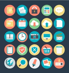 Web icons 1 vector