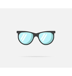 Sunglasses can be used as logo or icon vector