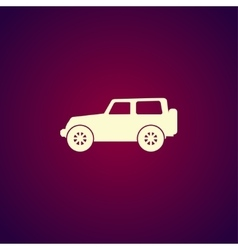 Suv icon concept for design vector