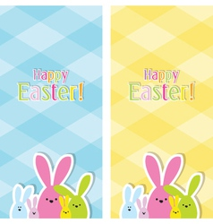 Easter web banners vector image