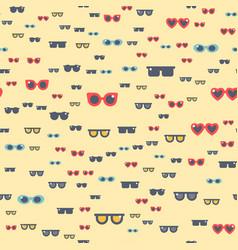 fashion sunglasses accessory eyeglasses vector image