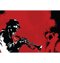 trumpet the best vector image vector image