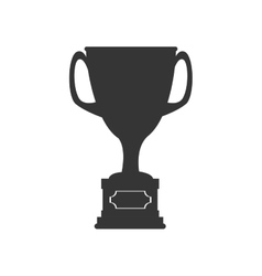 Basketball trophy cup vector