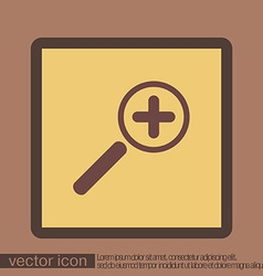 Magnifier increase vector