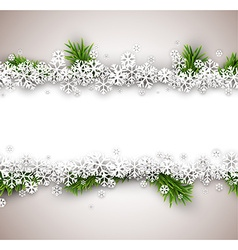 Christmas light abstract background vector image vector image