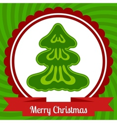 Christmas web banner design vector image