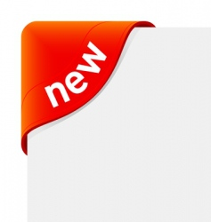 sign new vector image vector image