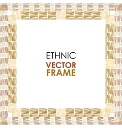 Ethnic frame vector