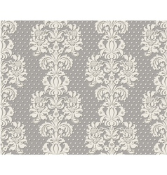 Seamless vintage lace background vector