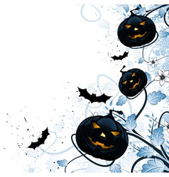 Grungy abstract halloween background vector
