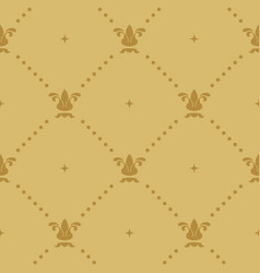 Aristocratic baroque wallpaper vector