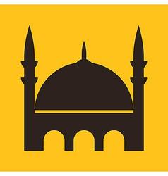 Mosque icon vector