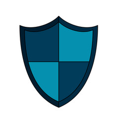 shield protection icon image vector image